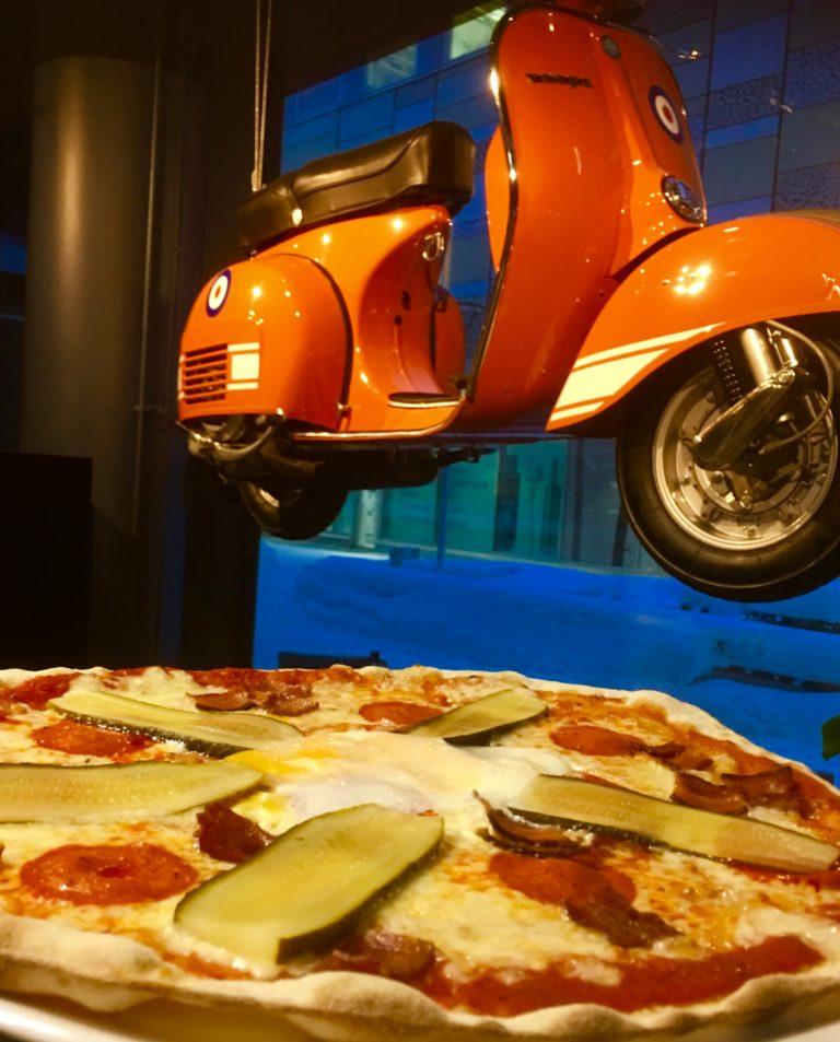 Vespalla pizzalle!